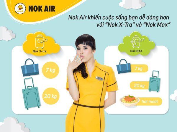 Quy định hành lý Nok Air