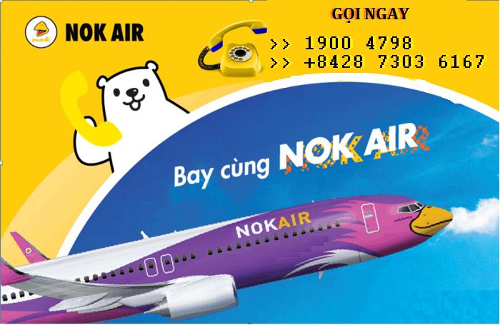 Tổng đài vé máy bay Nok Air
