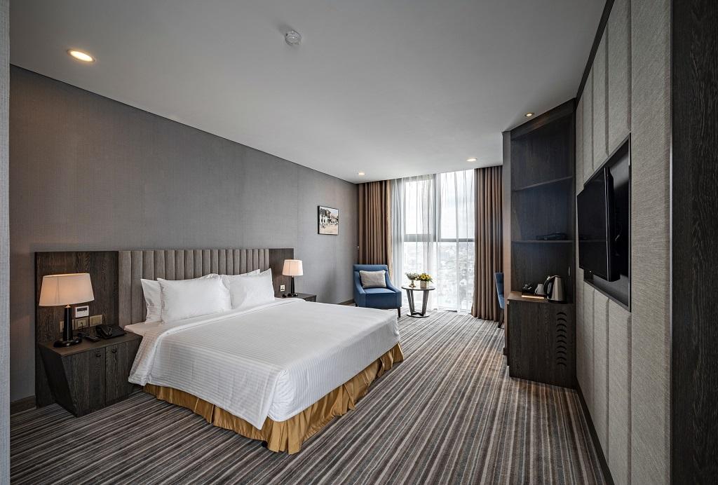 Phòng deluxe Khách sạn mường thanh luxury sai gon