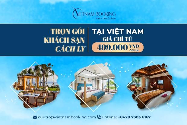 giá khách sạn cách ly ở Việt Nam